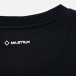 Мужская футболка MA.Strum Logo Embroidered Jet Black фото- 3