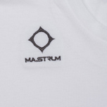 Мужская футболка MA.Strum Logo Embroidered Optic White фото- 2