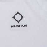 Мужская футболка MA.Strum Logo Embroidered Optic White фото- 2