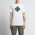 Мужская футболка MA.Strum Msta SS Large Compass Optic White фото- 3