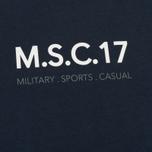 Мужская футболка MA.Strum Pion SS M.S.C. 17 Front & Back Logo Dark Navy фото- 2