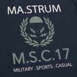 Мужская футболка MA.Strum Pion SS M.S.C. 17 Front & Back Logo Dark Navy фото- 3