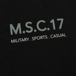 Мужская футболка MA.Strum Pion SS M.S.C. 17 Front & Back Logo Jet Black фото- 2