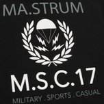 Мужская футболка MA.Strum Pion SS M.S.C. 17 Front & Back Logo Jet Black фото- 3