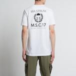 Мужская футболка MA.Strum Pion SS M.S.C. 17 Front & Back Logo Optic White фото- 5