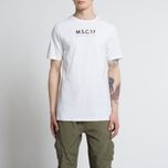 Мужская футболка MA.Strum Pion SS M.S.C. 17 Front & Back Logo Optic White фото- 4