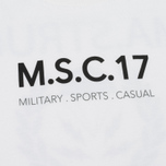 Мужская футболка MA.Strum Pion SS M.S.C. 17 Front & Back Logo Optic White фото- 2