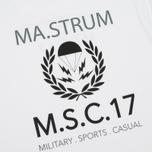 Мужская футболка MA.Strum Pion SS M.S.C. 17 Front & Back Logo Optic White фото- 3