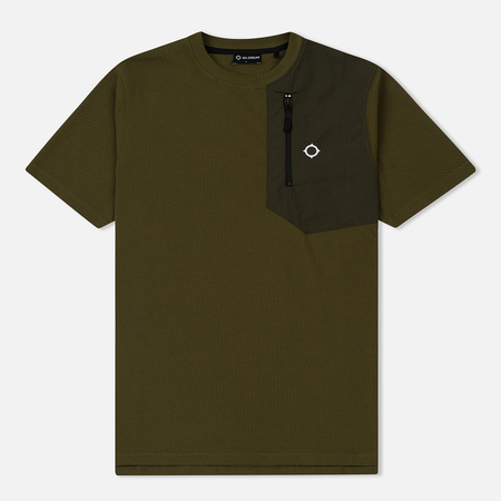 Мужская футболка MA.Strum Pique Zip Pocket Light Khaki
