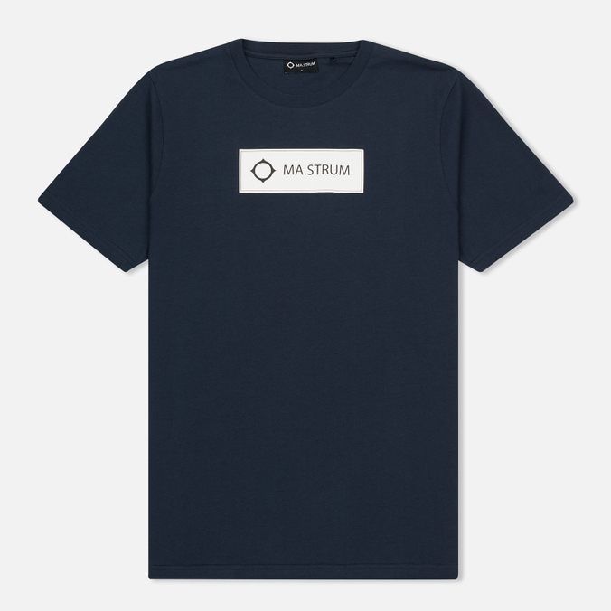 Мужская футболка MA.Strum Tsar SS Block Logo Dark Navy