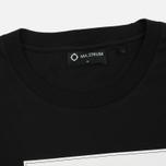 Мужская футболка MA.Strum Tsar SS Block Logo Jet Black фото- 1
