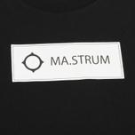 Мужская футболка MA.Strum Tsar SS Block Logo Jet Black фото- 2
