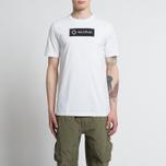 Мужская футболка MA.Strum Tsar SS Block Logo Optic White фото- 3
