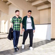 Мужская футболка Macron Torpedo 19/20 Football Jersey Green/Black фото- 3