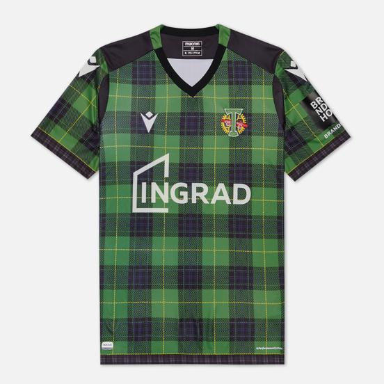 Мужская футболка Macron Torpedo 19/20 Football Jersey Green/Black