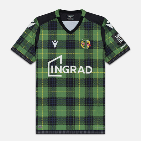 Мужская футболка Macron Torpedo 19/20 Football Jersey Green/Black