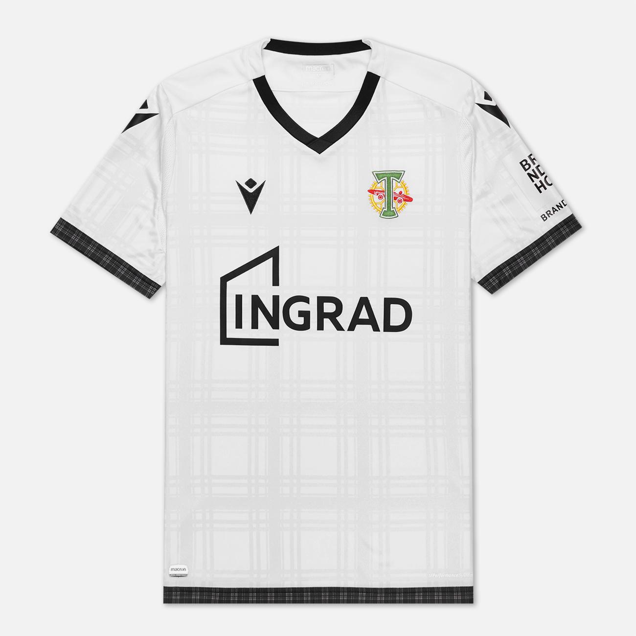 Мужская футболка Macron Torpedo 19/20 Football Jersey White/Black