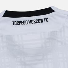 Мужская футболка Macron Torpedo 19/20 Football Jersey White/Black фото- 4