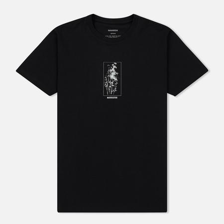 Мужская футболка maharishi Bamboo Miltype Black