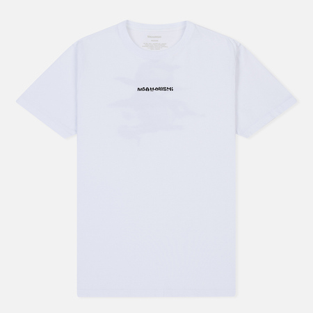 Мужская футболка maharishi Blake Tigardstripe Portrait Print White