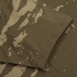 Мужская футболка maharishi Camo Mid Slouch Tigerstripe Murale Super Sparse Maha Olive Natural фото- 2