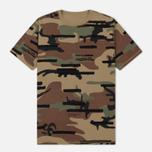 Мужская футболка maharishi Camo Reversible Woodland фото- 0