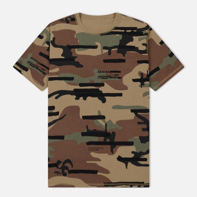 Мужская футболка maharishi Camo Reversible Woodland