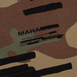 Мужская футболка maharishi Camo Reversible Woodland фото- 2