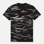Мужская футболка maharishi Camo Slouch Tigerstripe Murale Sparse Black Zebras фото- 0