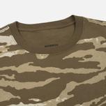 Мужская футболка maharishi Camo Slouch Tigerstripe Murale Sparse Maha Olive Natural фото- 1