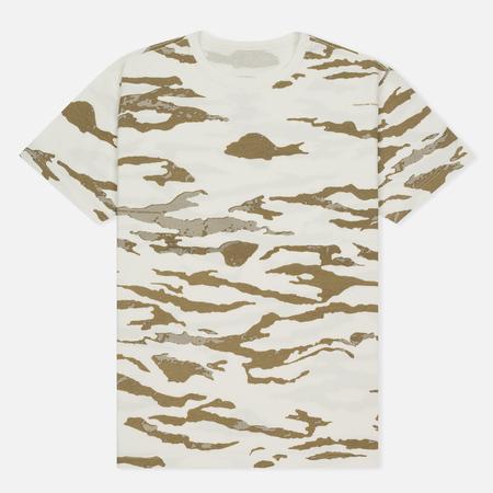 Мужская футболка maharishi Camo Slouch Tigerstripe Murale Sparse Maha White Natural