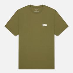 Мужская футболка maharishi Mahartificial Maha Olive