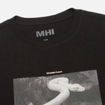 MHI By Maharishi Master Snake Men's T-shirt Black photo- 1