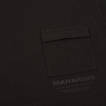 Мужская футболка maharishi Militaire Couvert Black фото- 2