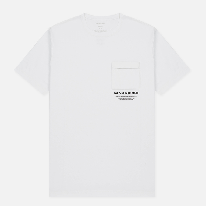 Мужская футболка maharishi Militaire Couvert White