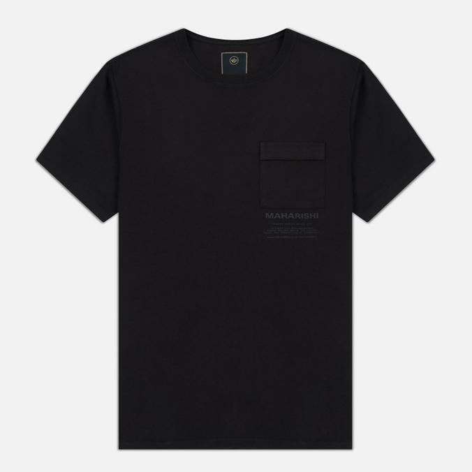 Мужская футболка maharishi Miltype Black