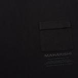Мужская футболка maharishi Miltype Black фото- 3