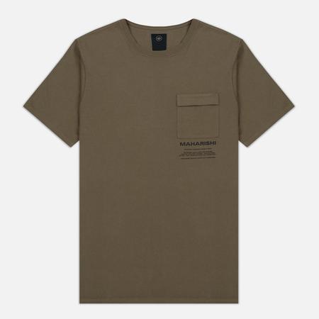 Мужская футболка maharishi Miltype Maha Olive