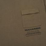 Мужская футболка maharishi Miltype Maha Olive фото- 3