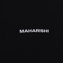 Мужская футболка maharishi Organic Military Type Embroidery Black фото- 2