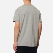 Мужская футболка maharishi Organic Military Type Embroidery Grey Marl фото- 1