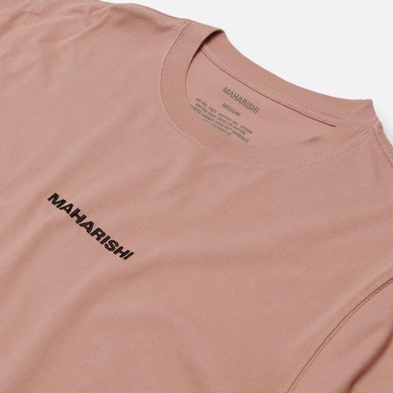 Мужская футболка maharishi Organic Military Type Embroidery Pink Panther