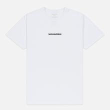 Мужская футболка maharishi Organic Military Type Embroidery White фото- 0