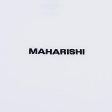 Мужская футболка maharishi Organic Military Type Embroidery White фото- 2