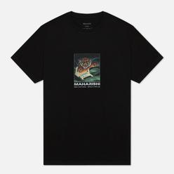 Мужская футболка maharishi Programma Black