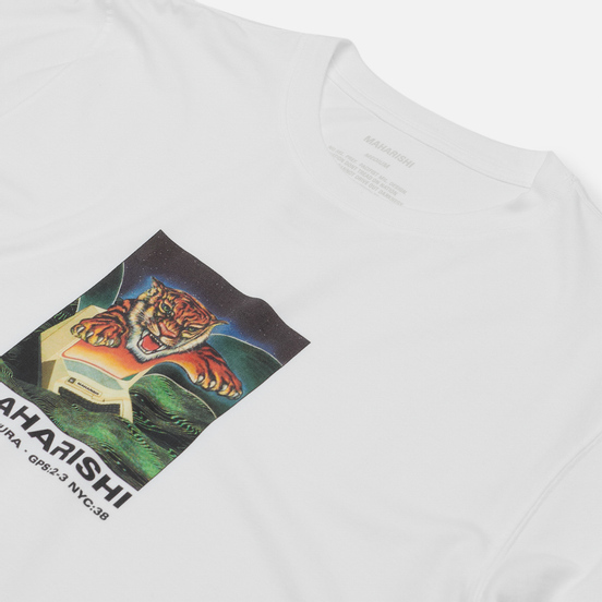 Мужская футболка maharishi Programma White