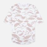 Мужская футболка maharishi Reversible Camo Thayer Desert/White фото- 0