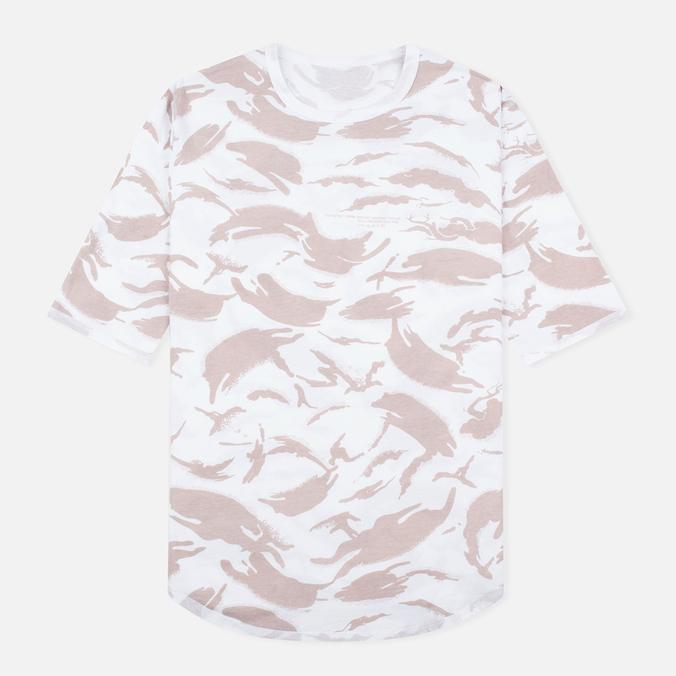 Мужская футболка maharishi Reversible Camo Thayer Desert/White