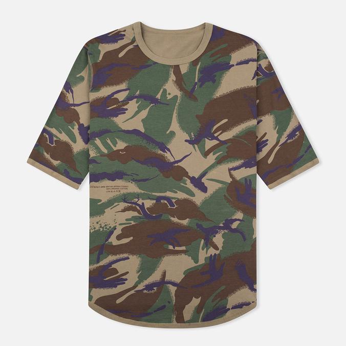 Мужская футболка Maharishi Reversible Camo Thayer Papal Woodland/Sand