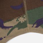 Мужская футболка Maharishi Reversible Camo Thayer Papal Woodland/Sand фото- 4